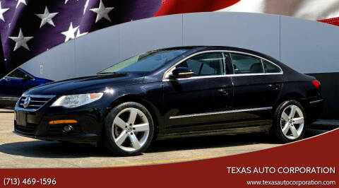 2011 Volkswagen CC for sale at Texas Auto Corporation in Houston TX