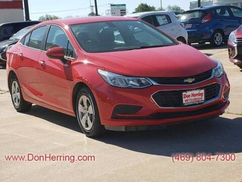 2018 Chevrolet Cruze for sale at DON HERRING MITSUBISHI in Irving TX
