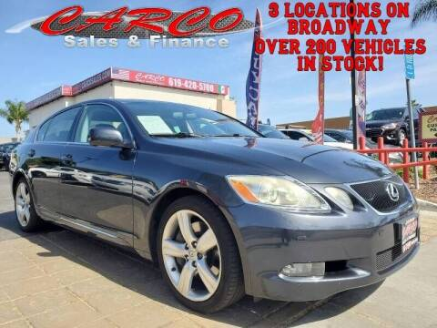 2007 Lexus GS 350 for sale at CARCO SALES & FINANCE in Chula Vista CA