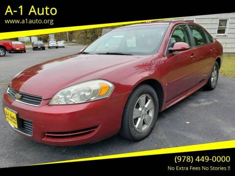 2009 Chevrolet Impala for sale at A-1 Auto in Pepperell MA