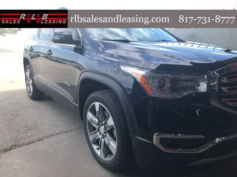 2017 GMC Acadia for sale at RLB Sales and Leasing in Fort Worth TX