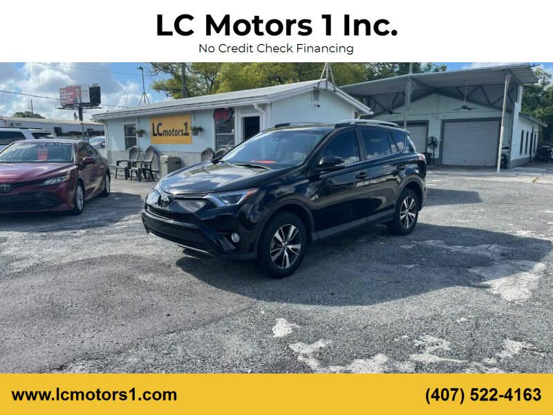 2017 Toyota RAV4 for sale at LC Motors 1 Inc. in Orlando FL