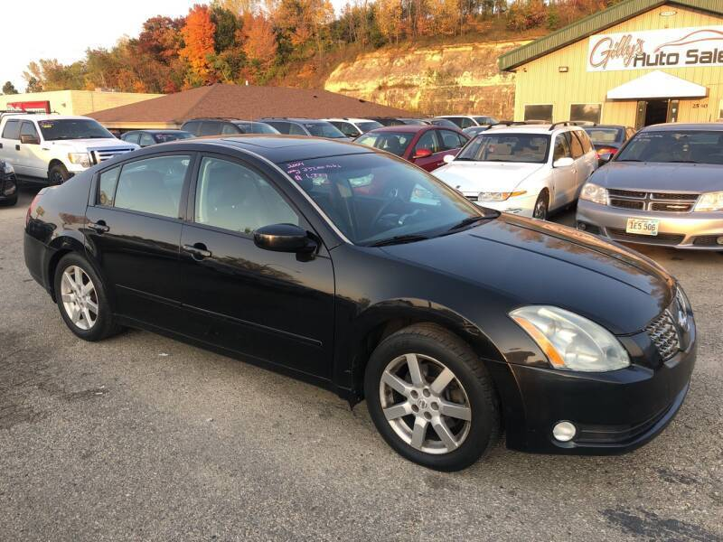 2004 Nissan Maxima for sale at Gilly's Auto Sales in Rochester MN
