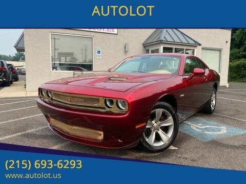 2015 Dodge Challenger for sale at AUTOLOT in Bristol PA