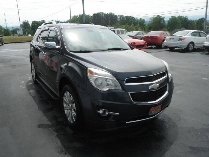 2011 Chevrolet Equinox for sale at Morelock Motors INC in Maryville TN