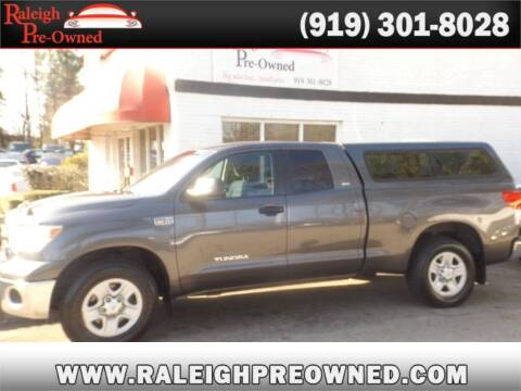 2013 Toyota Tundra for sale at Raleigh Pre-Owned in Raleigh NC