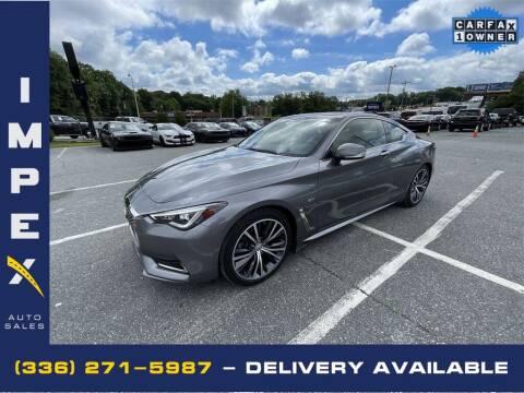 2018 Infiniti Q60 for sale at Impex Auto Sales in Greensboro NC