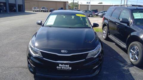 2016 Kia Optima for sale at Nelson Car Country in Bixby OK