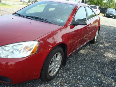 2006 Pontiac G6 for sale at Branch Avenue Auto Auction in Clinton MD