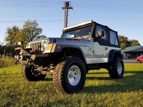2004 Jeep Wrangler for sale at Ridgeway's Auto Sales in West Frankfort IL