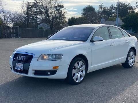 2006 Audi A6 for sale at SHOMAN AUTO GROUP in Davis CA