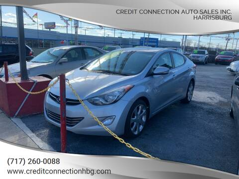 2012 Hyundai Elantra for sale at Credit Connection Auto Sales Inc. HARRISBURG in Harrisburg PA