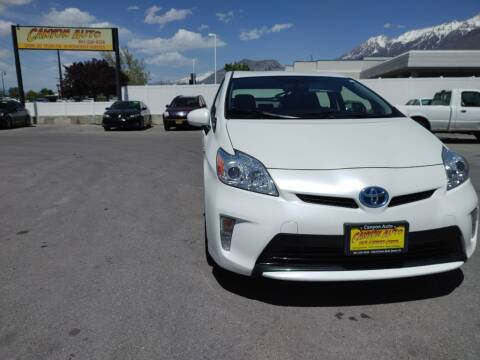 2015 Toyota Prius for sale at Canyon Auto Sales in Orem UT