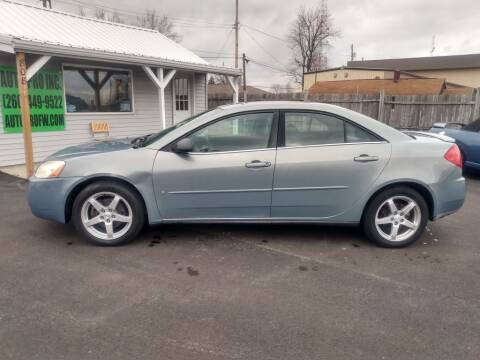 2007 Pontiac G6 for sale at Auto Pro Inc in Fort Wayne IN