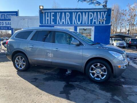 2008 Buick Enclave for sale at The Kar Kompany Inc. in Denver CO