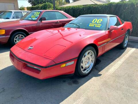 1990 Chevrolet Corvette for sale at Best Car Sales in South Gate CA