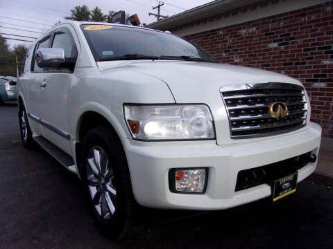 2010 Infiniti QX56 for sale at Certified Motorcars LLC in Franklin NH