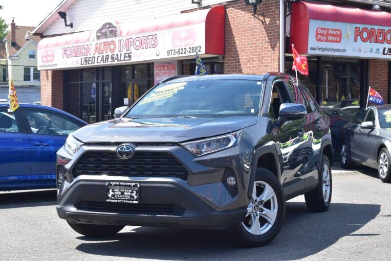 2021 Toyota RAV4 for sale at Foreign Auto Imports in Irvington NJ