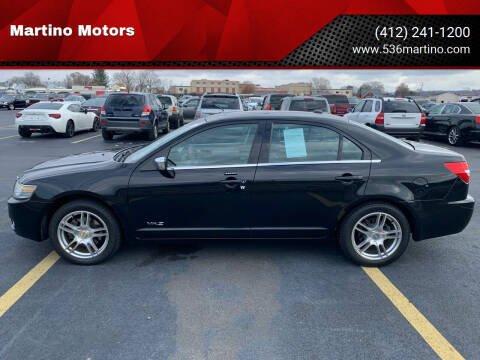 2008 Lincoln MKZ for sale at Martino Motors in Pittsburgh PA