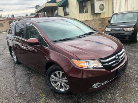 2016 Honda Odyssey for sale at Some Auto Sales in Hammond IN