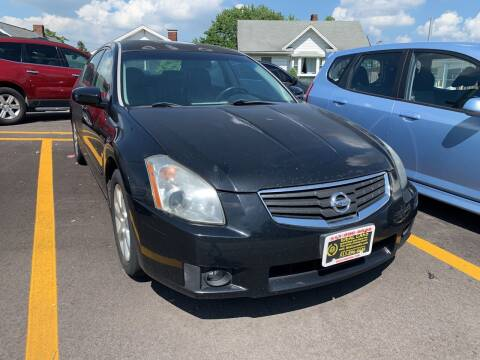 2007 Nissan Maxima for sale at Ideal Cars in Hamilton OH