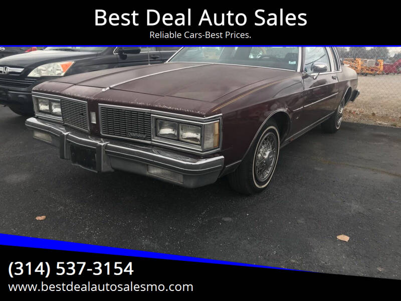 1984 Oldsmobile Delta Eighty-Eight Royale for sale at Best Deal Auto Sales in Saint Charles MO