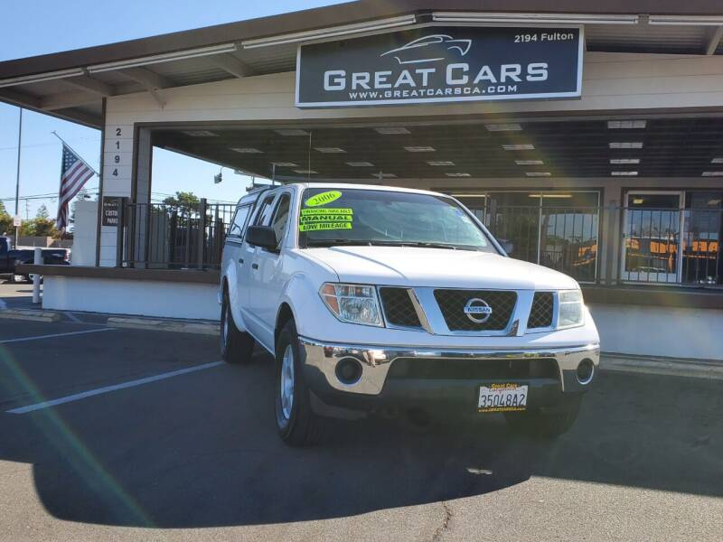 2006 Nissan Frontier for sale at Great Cars in Sacramento CA