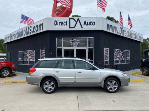 2006 Subaru Outback for sale at Direct Auto in D'Iberville MS