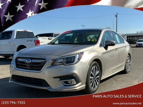2018 Subaru Legacy for sale at Paris Auto Sales & Service in Big Rapids MI