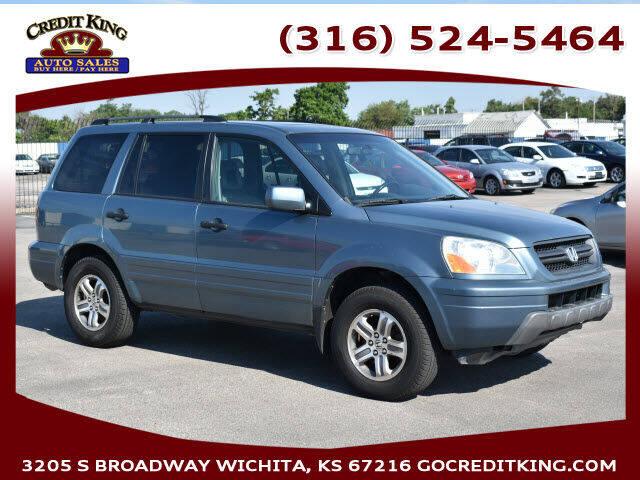 2005 Honda Pilot for sale at Credit King Auto Sales in Wichita KS