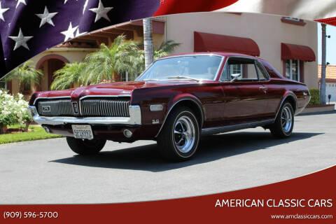 1968 Mercury Cougar for sale at American Classic Cars in La Verne CA