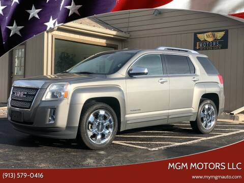 2012 GMC Terrain for sale at MGM Motors LLC in De Soto KS