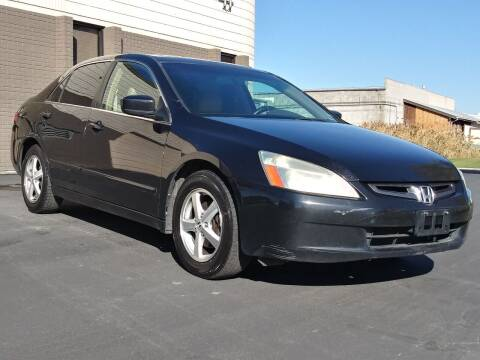2005 Honda Accord for sale at AUTOMOTIVE SOLUTIONS in Salt Lake City UT