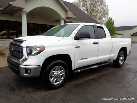 2018 Toyota Tundra for sale at DEALS UNLIMITED INC in Portage MI