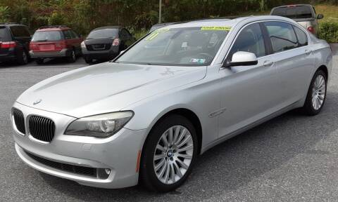 2011 BMW 7 Series for sale at Bik's Auto Sales in Camp Hill PA
