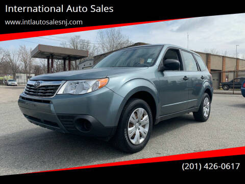 2009 Subaru Forester for sale at International Auto Sales in Hasbrouck Heights NJ