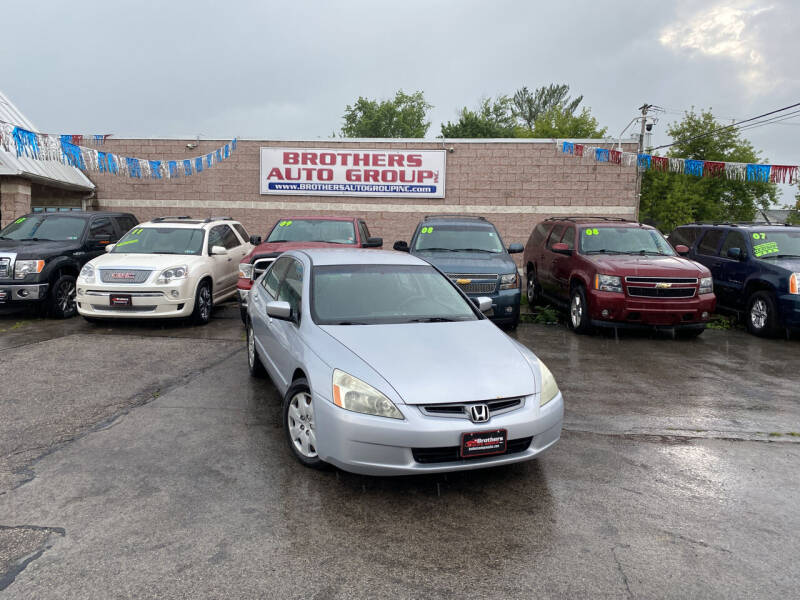 2004 Honda Accord for sale at Brothers Auto Group in Youngstown OH