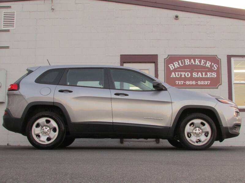 2014 Jeep Cherokee for sale at Brubakers Auto Sales in Myerstown PA