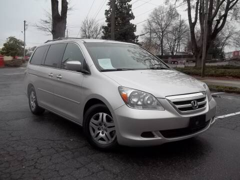 2006 Honda Odyssey for sale at CORTEZ AUTO SALES INC in Marietta GA
