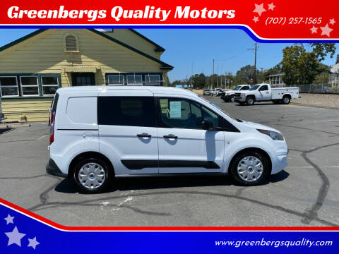 2014 Ford Transit Connect Cargo for sale at Greenbergs Quality Motors in Napa CA
