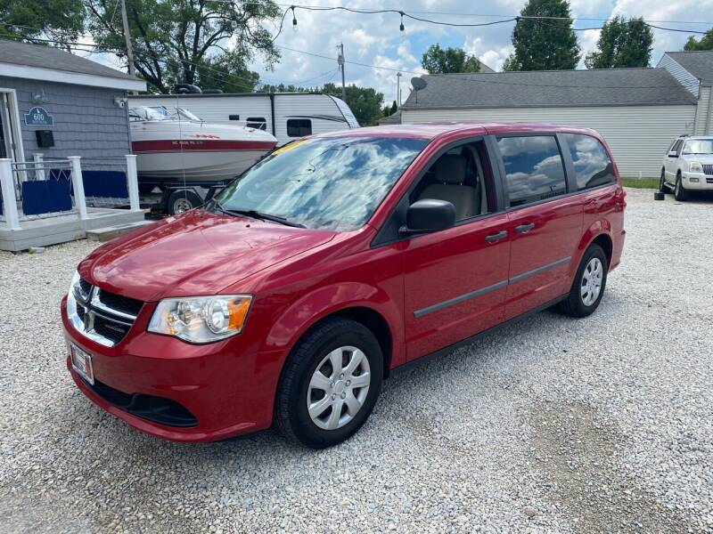 2012 Dodge Grand Caravan for sale at Davidson Auto Deals in Syracuse IN