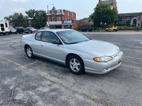 2003 Chevrolet Monte Carlo for sale at DC Auto Sales Inc in Saint Louis MO