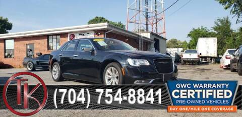 2015 Chrysler 300 for sale at T.K. AUTO SALES LLC in Salisbury NC