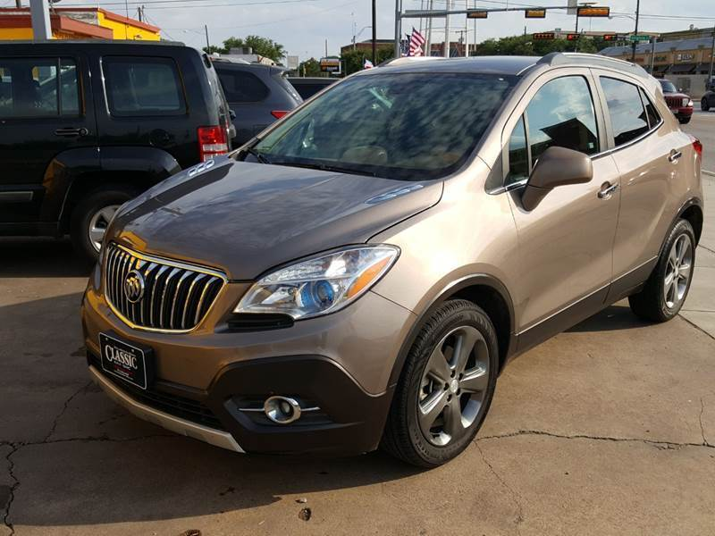 2013 Buick Encore Leather 4dr Crossover - Mckinney TX