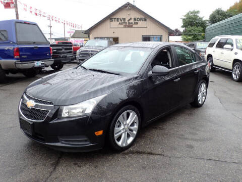 2011 Chevrolet Cruze for sale at Steve & Sons Auto Sales in Happy Valley OR