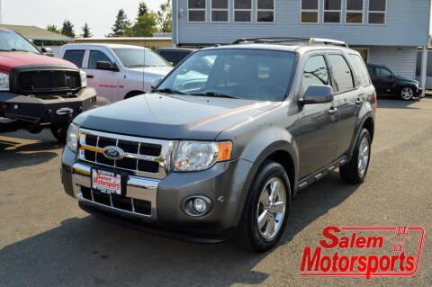 2010 Ford Escape for sale at Salem Motorsports in Salem OR