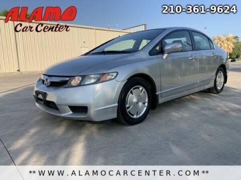 2009 Honda Civic for sale at Alamo Car Center in San Antonio TX