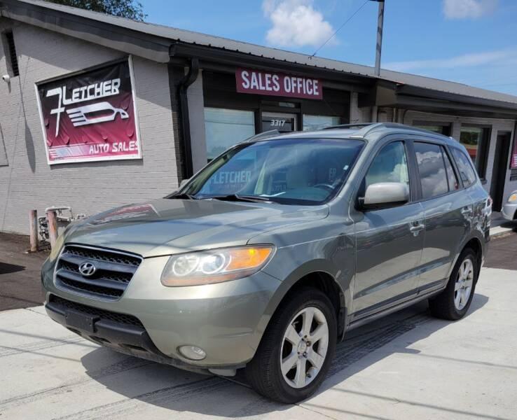 2007 Hyundai Santa Fe for sale at Fletcher Auto Sales in Augusta GA