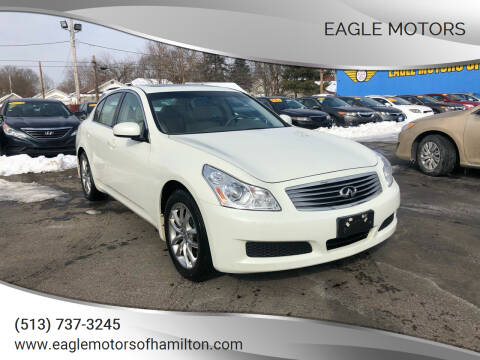 2008 Infiniti G35 for sale at Eagle Motors in Hamilton OH