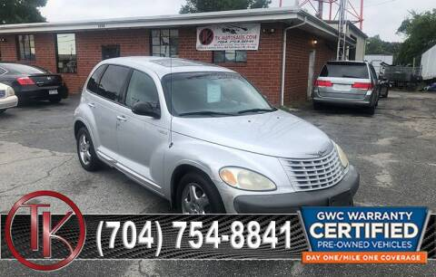 2002 Chrysler PT Cruiser for sale at T.K. AUTO SALES LLC in Salisbury NC